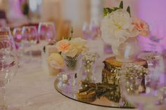 Wedding flowers - pink and white