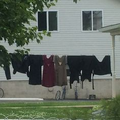 Amish Clothes LIne ~ Sarah's Country Kitchen ~