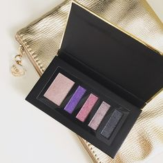 HPLancôme Color Design Palette+makeup bag Sensational effects eye shadow in Cool Night + gold makeup bag. Brand new. For sanitary concerns I DO NOT sell used makeup. ❤️ Lancome Makeup Eyeshadow