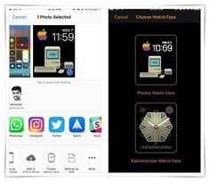 Use iPhone Photos as Apple Watch Face