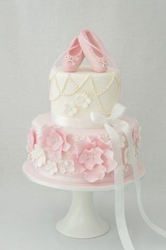 ballerina shoe cakes - Google Search