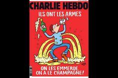 dessin de Coco on peut ne pas aimer mais c'est Charlie Hebdo   La réponse de Charlie Hebdo aux terroristes de Paris