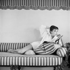 Audrey- epitome of style & grace
