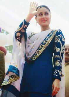 Are you searching for punjabi suits online like punjabi suit design photos Punjabi Fashion, India Fashion, Bollywood Fashion, Women's Fashion, French Fashion, Fashion Dresses, Indian Suits, Indian Attire, Indian Wear