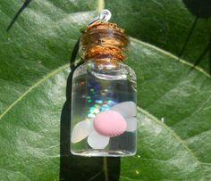 zelda fairy in a bottle. polymer clay