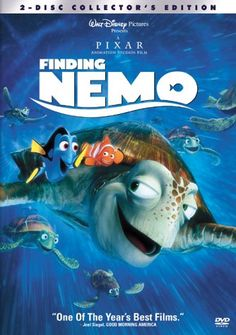 Finding Nemo is a 2003 American computer-animated comedy adventure film produced by Pixar Animation Studios and released by Walt Disney Pictures. Film Pixar, Pixar Movies, Kid Movies, Family Movies, Great Movies, Movies To Watch, Animation Movies, Awesome Movies, Children Movies