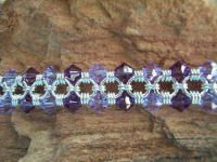Clearly Crystals from long Canyon Wire Wrapped Jewelry, Wire Jewelry, Types Of Weaving, Bangles, Beaded Bracelets, Chainmaille, Jewerly, Swarovski, Jewelry Making