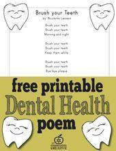 Dental Kids, Free Dental, Dental Health Month, Oral Health, Health Unit, Kids Health, Children Health, Dental Hygiene, Dental Care