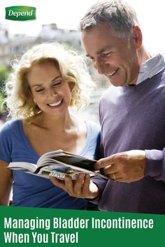 Your life is exciting and full of adventure. Don't let bladder leaks slow you down! Check out this article for some easy tips on managing bladder incontinence when you travel. Save room in your carry-on bag for your Depend® FIT-FLEX® Underwear for Men. That way, you'll have reliable protection against bladder leaks wherever you go.