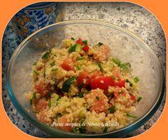 Insalata di quinoa e bulgur con salmone affumicato