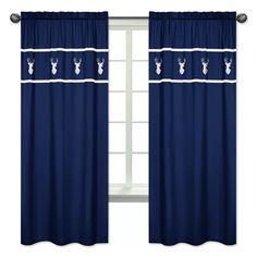 Sweet Jojo Designs Woodsy Wildlife Semi-Sheer Rod pocket Curtain Panels & Reviews | Wayfair
