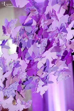 butterfly cutout decoration, Hilton Waterfront, Lucero Photography, www.agoodaffair.com