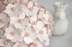 diy bridal shower centerpieces | ! You have beautiful handmade centerpiecs for your wedding or shower ...
