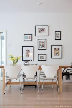 Ikean Norden-pöytä + Seiska-tuolit