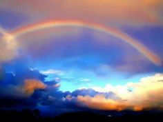 Awesome Oklahoma sunset with a rainbow! Beautiful!