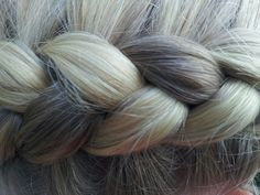 Dutch braid close up ♥