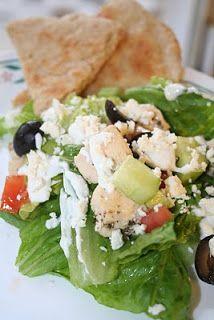 Greek Salad - Oh Sweet Basil