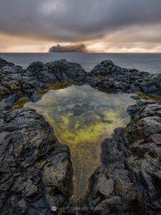 Green Pool, Vagar, Faroe Islands.