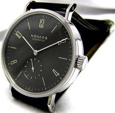 NOMOS TANGOMAT RUTHENIUM TN1E1G2 . I love this watch, and ruthenium too.