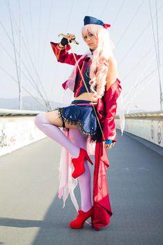 Sheryl Nome - sayonara no tsubasa cosplay 16 by JunkoPinkberry.deviantart.com on @deviantART