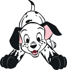 101 Dalmatian T Shirt Iron On Transfer 1 Puppies Dalmation Puppy 8x10 5x6 3x3 Disney Cartoon CharactersDisney