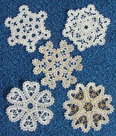 small snowflakes for Christmas cards