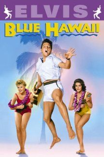 "BLUE HAWAII 1961 - Elvis rebels against going into the family pineapple business by becoming a tour guide. The movie that introduced the song ""Can't Help Falling in Love"". This is the first of Elvis's travelogue confections with lush scenery and a big luau finale. With Joan Blackman, Angela Lansbury."