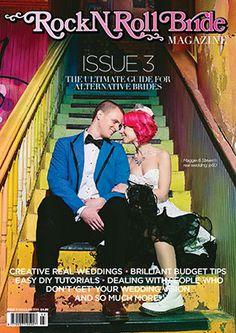 Rock n Roll Bride Magazine Cover