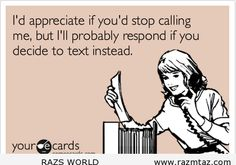 I'D APPRECIATE IF YOU STOP CALLING ..BUT ... - http://www.razmtaz.com/id-appreciate-if-you-stop-calling-but-2/