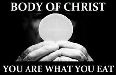 """We celebrate the Eucharist not because we are worthy, but because we recognize our need for God's mercy. Church Memes, Catholic Memes, Catholic Religion, Catholic Values, Catholic Prayers, God Loves Me, Jesus Loves, Religious Quotes, Dios"