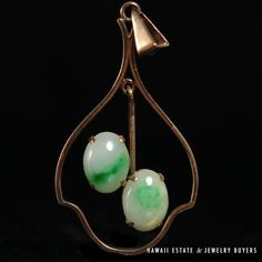 See more vintagejewelry items on our website link in bio see more vintagejewelry items on our website link in bio vintage 14k assorted jade pendant 3pc set butterfly flower disc jade pendant pinterest aloadofball Gallery