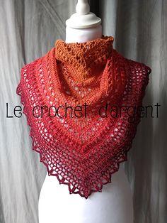 Ravelry  Summer in Sevilla pattern by Le Crochet d Argent Patrons De Châles, 4da405ef544