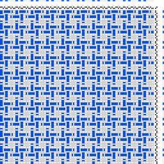 draft image: Figurierte Muster Pl. XXIX Nr. 4 (b), Die färbige Gewebemusterung, Franz Donat, 2S, 2T