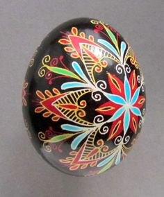 Pysanka Ukrainian Easter Egg <-- this is also one of my favorites
