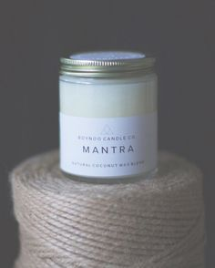 Paraffin Wax, Natural Essential Oils, Bergamot, How To Relieve Stress, Glass Jars, Herbalism, Lavender, Mantra