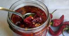 The traditional Apulian side dish made with chili peppers.