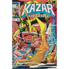 KA-ZAR THE SAVAGE #31 | 1981-1984 | VOLUME 1 | MARVEL | $4.50