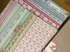 Hettie's Patch-Tilda fabric. Happiness is Homemade and Tiny Treasures fabric ranges.
