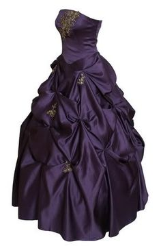 definetaly a dress that i would wear if i was going to go really dark purple