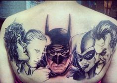 batman tattoo!! Coming along swimmingly.