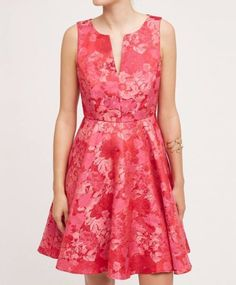 Anthropologie Agra Jacquard Dress by Eva Franco $228 Sz 2P - NWT   eBay