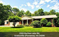 Fluvanna County Home for Sale - 2203 Ruritan Lake Rd. #PamDent #FluvannaCountryHomes #2203RuritanLakeRd