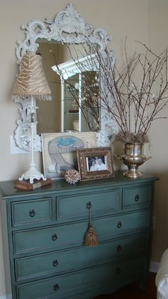 Entry Furniture Foyer Furniture Dresser Design Ideas, Pictures, Remodel, and Decor - page 4 Entry Furniture, Home Decor Furniture, Painted Furniture, Painted Dressers, Arrange Furniture, Painted Chest, Furniture Refinishing, Funky Furniture, Furniture Storage