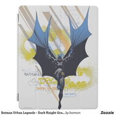 Shop Batman Urban Legends - Dark Knight Graffiti iPad Cover created by batman. Dark City, Urban Legends, Dark Knight, Graffiti, Ipad, Batman, Superhero, Cover, Fictional Characters