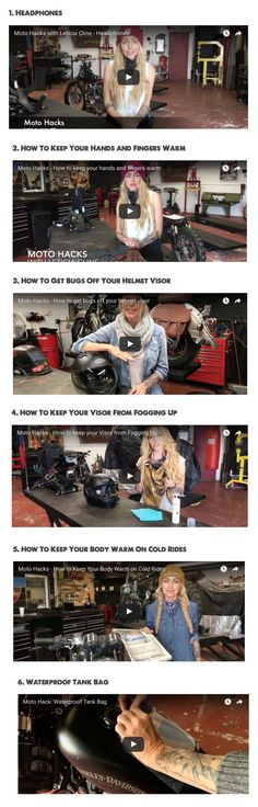 Motohacks by Leticia Cline