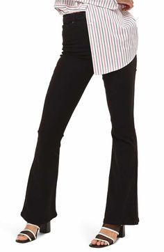 Main Image - Topshop Jamie High Waist Flare Jeans
