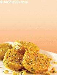 Cabbage Jowar Muthias: These muthias make a great breakfast, when accompanied by a fruit or a fruit juice.