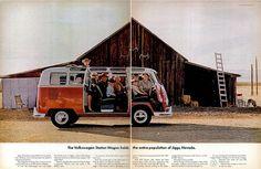 VW BUS AD DP LIFE MAG MAR, 15 1965