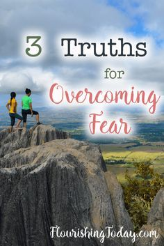 With tragedy happening all around us, we can quickly become overwhelmed with fear. God has a better plan for us. Here are 3 truths to help with overcoming fear.