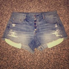 American Eagle Denim Shorts American Eagle Denim Shorts (light washed) - BRAND NEW WITHOUT TAGS! Never been worn! American Eagle Outfitters Shorts Jean Shorts